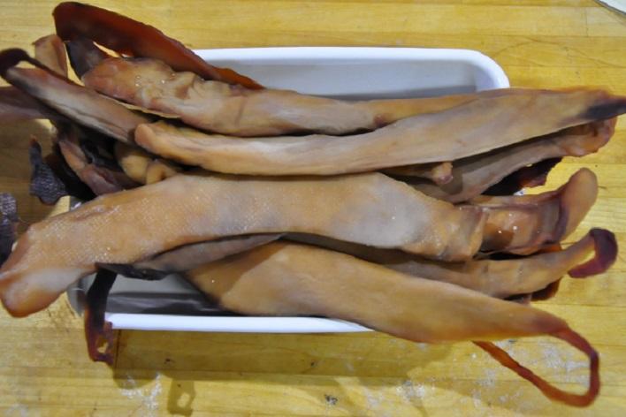 鮭の白子カラスミ
