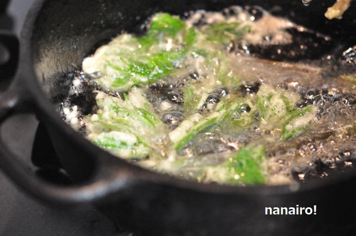 魚醤のおすすめの使い方、天ぷらの衣、揚げ方。