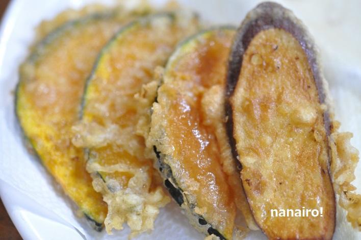 魚醤のおすすめの使い方、天ぷらの衣、野菜も美味しく揚がります。