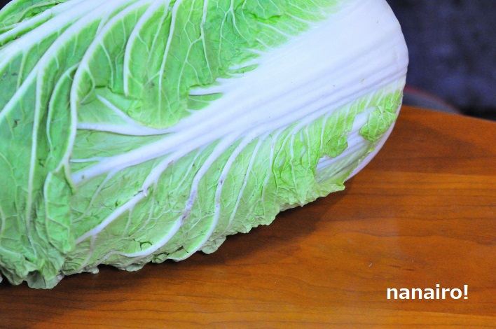 冬が旬の白菜