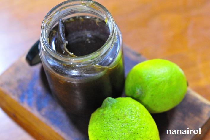 グリーンレモンポン酢
