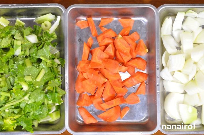 香味野菜のみじん切り