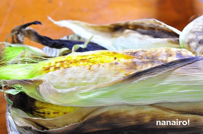 トウモロコシのグリル焼き