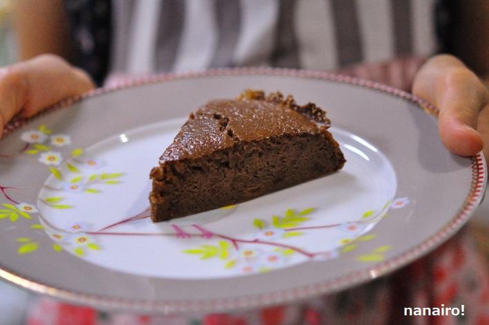 贅沢なチョコバナナパンケーキ